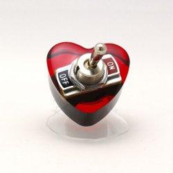 画像3: ハート形ヤル気スイッチリング(mini) 電子部品アクセサリー