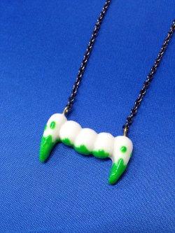 画像3: モンスター牙のネックレス (スプラッシュタイプ) GOTH、原宿系ファッション