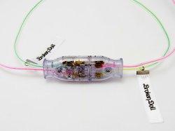 画像2: オス・メス仲良しドッキングコネクター・ネックレス  電子部品アクセサリー、アキバ系 青文字系 原宿系 フェアリー系ファッション
