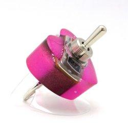 画像3: ハート形ヤル気スイッチリング(mini) ピンク 電子部品アクセサリー