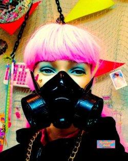 画像4: ガスマスク(スタンダード) コスプレ サブカル Goth スチームパンク