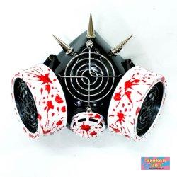 画像3: ガスマスク(ホスピタルLED) ゴス、CYBER GOTH、ナースコスチューム