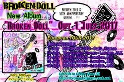 画像2: Broken Doll - Broken Doll (2017/7/1 リリース) 13曲入りフルアルバム