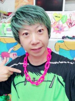 画像3: New Wave Punk チェーン ネックレス (Pink)