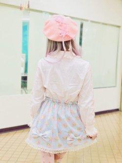 画像2: ユニコーン ドリーミーリボン スカート (ハンドメイド、 一点もの)