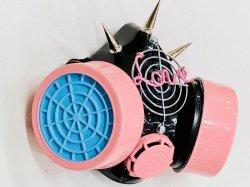 画像3: ガスマスク(Sebone ver.1) パステルピンク&ブルーフィルター