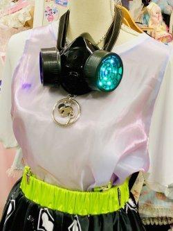 画像2: LEDガスマスク(リモコン点灯タイプ)  木村花着用