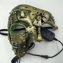 画像3: スチームパンク マスク (LEDモデル)